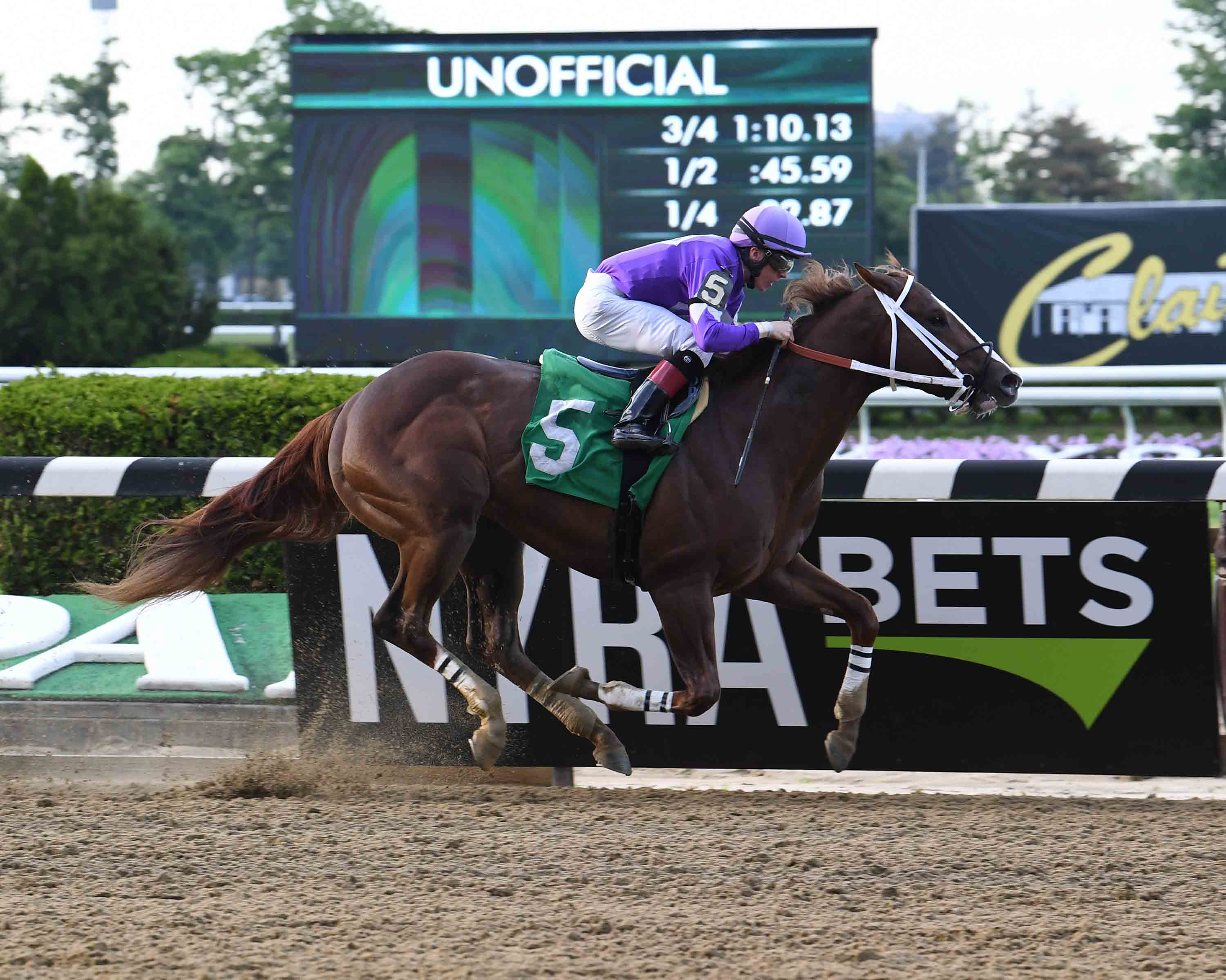 Bill Heller's New York-Breds at the Races: May 10 to 16